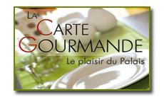 Carte gourmande